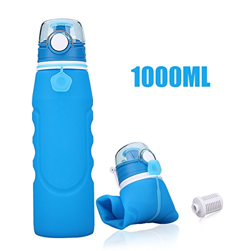 collapsible water bottle leak proof