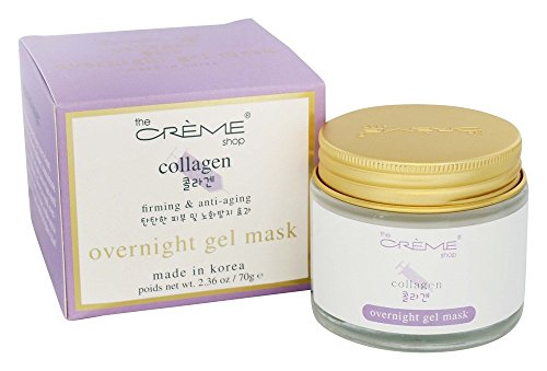 The Creme Shop - Collagen Overnight Gel Mask - 2.36 oz.