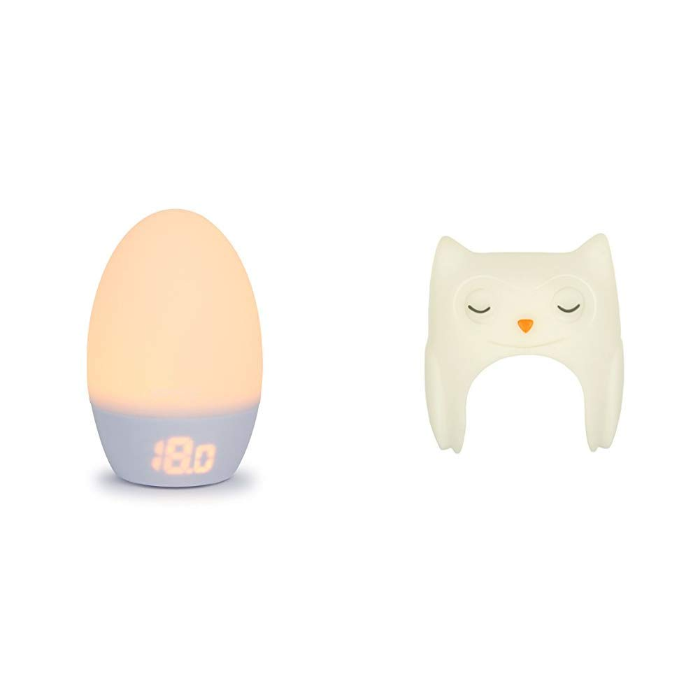 The Gro Company GroEgg2 Room Thermometer (USB version) with Oona The Owl Shell
