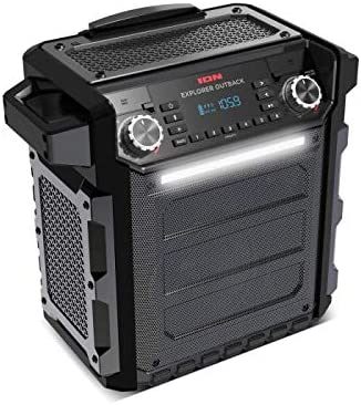 Ion Explorer Outback Wireless Rechargeable Speaker: Amazon