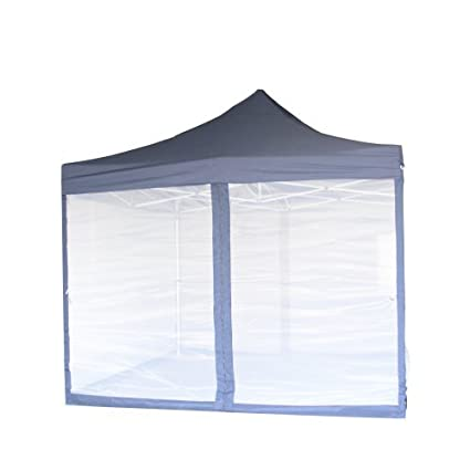Pop Up Canopy Tent With Net Screen Gazebo with Netting Enclosure (10u0027 x 10  sc 1 st  Amazon.com & Amazon.com: Pop Up Canopy Tent With Net Screen Gazebo with Netting ...