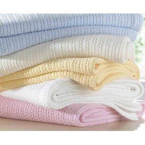 couverture pour bébé en coton Couverture pour bébé 100% coton couleur crème   Import Royaume Uni  couverture pour bébé en coton