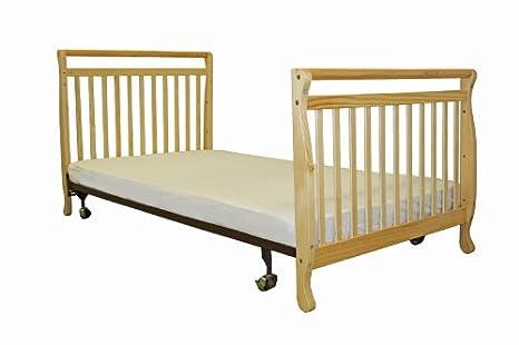 Amazon.com : Dream On Me 3 In 1 Portable, Convertible Crib   Natural : Baby
