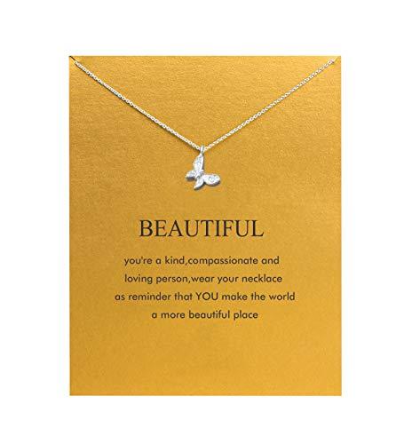 Hundred River Butterfly Necklace (Butterfly)