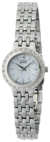 Watch Diamond Accented Dress - Citizen Women's EW9570-50D Eco-Drive Diamond Accented Dress Watch