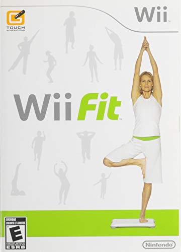 Wii Fit (Renewed) (Wii Fit Board Games)
