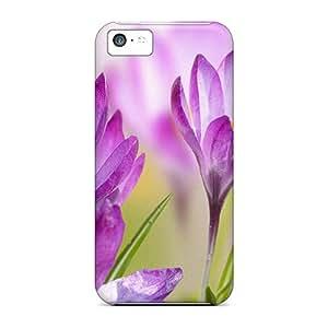 [eDXwoCX4058SSdpc]premium Phone Case For Iphone 5c/ Crocus Of Spring Tpu Case Cover