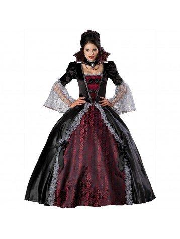 Vampiress Of Versailles Adult Plus Costumes - InCharacter Vampiress of Versailles Elite Women's