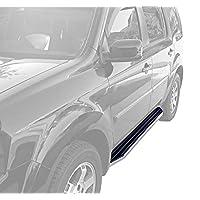 MAXMATE Premium Custom Fit 09-15 Honda Pilot Side Step Running Boards Nerf Bars (2pc with Mounting Bracket Kit)