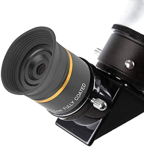 Bigking Plossl Eyepiec,1.25inch Plossl Eyepiece 9mm Fully Coated Metal for Astronomic Telescope Accessory Made of Aluminum Alloy