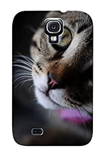 Design High Impact Dirt/shock Proof Case Cover For Galaxy S4 (animal Cat)