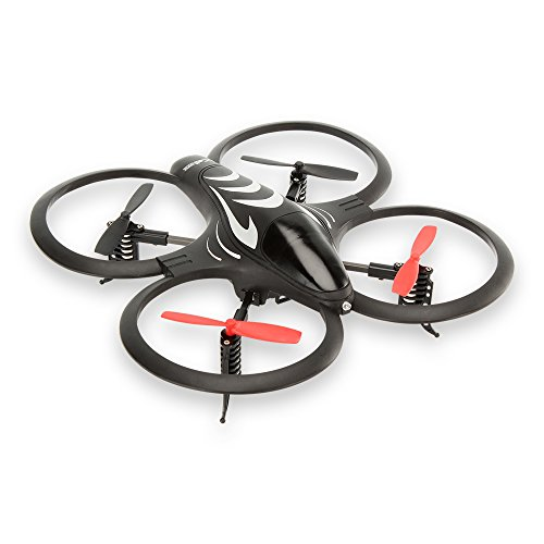 HyCell RC Quadcopter X-Drone Radio Control Toy Quattrocopter Gyro Ready-to-Fly (up to 8min. Flight Time)