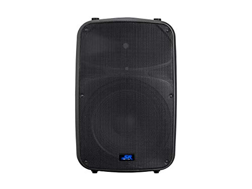 Monoprice Stage Right APS 15 400W 15-inch 2-way Active PA System with 3-Channel Mixer