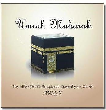 Umrah Mubarak Card: Amazon co uk: Office Products