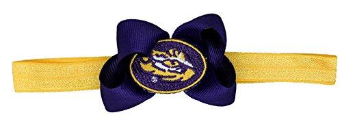 LSU Stretch Baby Headband