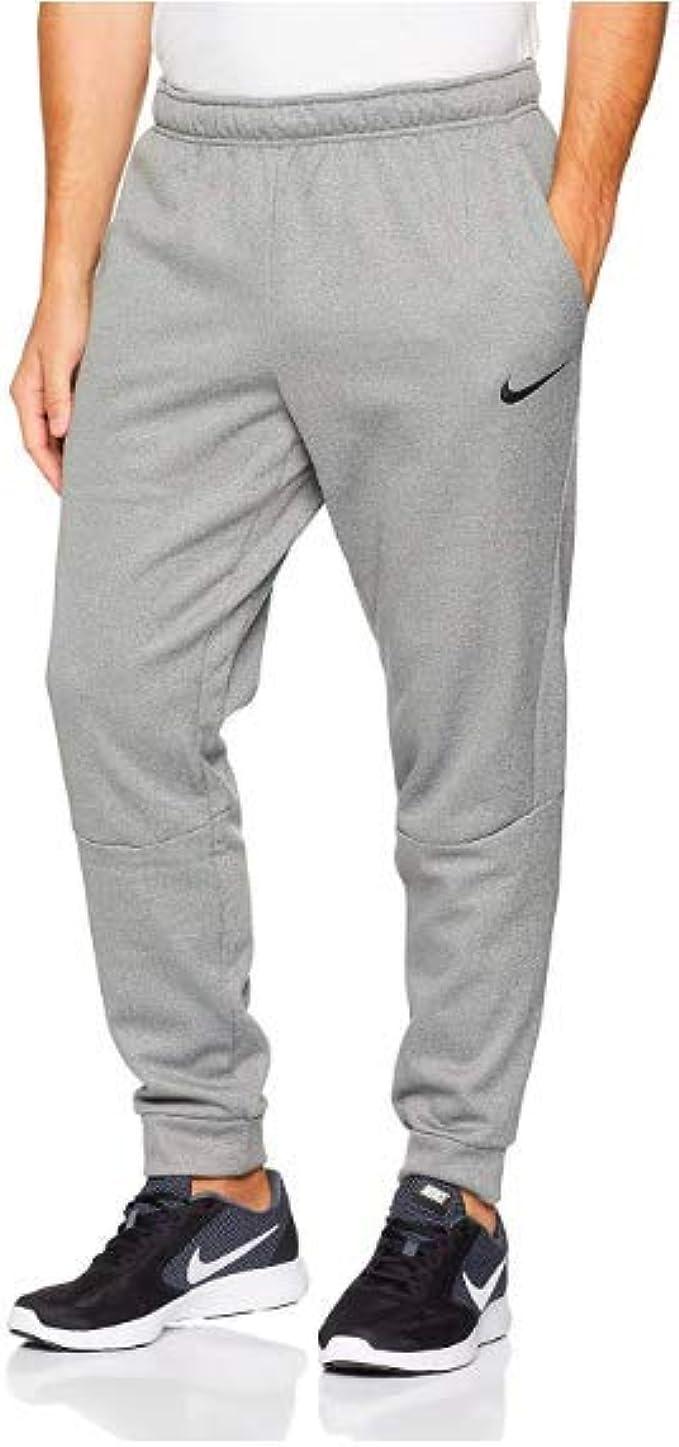 Nike Men's Therma Dri-Fit Training Pants (Carbon Heather, XX-Large)