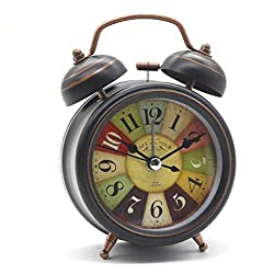 Alarm Clocks - Vintage Alarm Clock Wholesale Desktop With Backlight Double Bell Desk Table Digital Home Decor - Hands Charger Jensen 20 Cool Cheap Small Kitty Ipod Pink