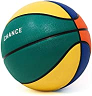 Chance Premium Rubber Outdoor / Indoor Basketball (Size 5 Kids & Youth, 6 Women's Official, 7 Men'