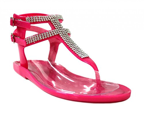 sexy jelly sandals - 9