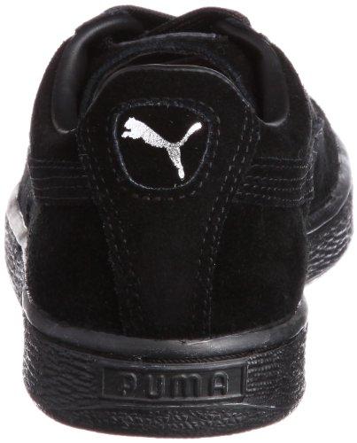 Puma Herren Suede Classic+ Low-Top Schwarz (Dunkel Shadow )