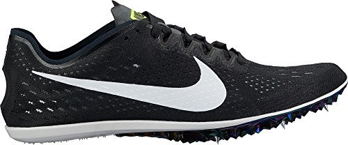 Nike Men's Zoom Victory Elite 2 Track and Field Shoes(Black/White, 5 D(M) US) (Zoom Victory Nike)