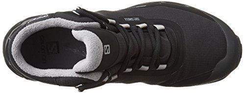 Salomon Shelter Spikes CS WP Scarpa invernali Black Black Pewter