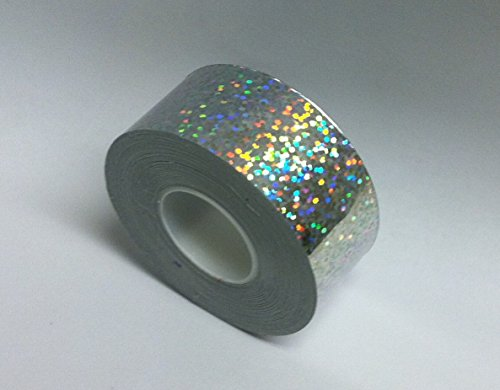 - Roll of Sparkle Tape, 1 Inch X 50 Feet, Holographic Glitter, Sequins