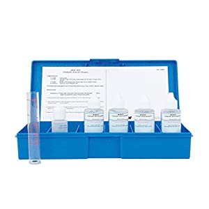Swimming pool stabilizer water test kit for cyanuric acid swimming pool liquid for Swimming pool test kits amazon