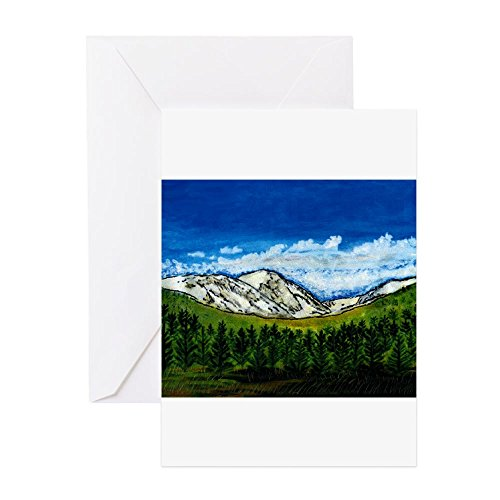 Art Giclee Matte (CafePress Breckenridge Colorado Jgibney 2A1 Greeting Cards Greeting Card, Note Card, Birthday Card, Blank Inside Matte)