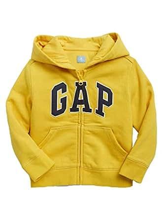 GAP Logo Zip Hoodie in Fleece - Golden Grain