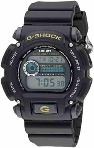Casio Men's G-Shock DW9052-1BCG Black Resin Sport Watch