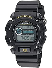 Men's G-Shock DW9052-1BCG Black Resin Sport Watch
