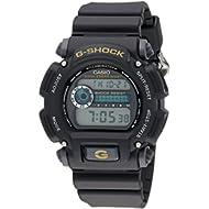 Men's G-Shock DW9052-1BCG Black Resin Sport Watch