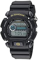 Casio Men's G-Shock DW9052-1BCG Black Resin Sport Watch