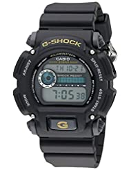 Casio G-Shock Watch, Shock Resistance, 200 M Wr, , Digtial With Black Resin Band