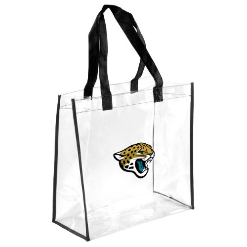 FOCO Jacksonville Jaguars Clear Reusable Bag by FOCO