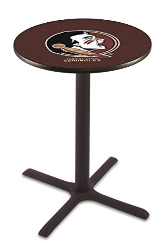 (Holland Bar Stool L211B Florida State Head Officially Licensed Pub Table, 28