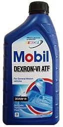 Mobil 103529 Dexron-VI Automatic Transmission Fluid - 1 Quart (Pack of 12)