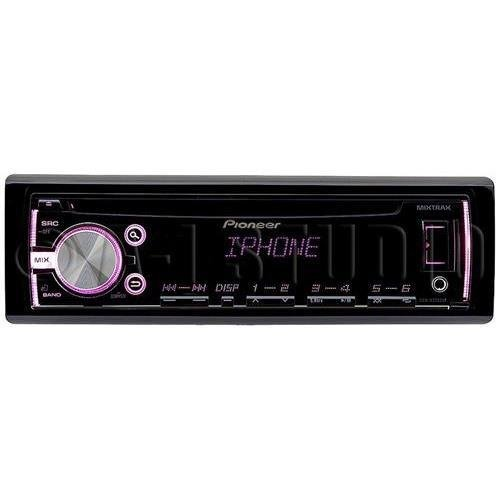 Pioneer DEH-X3700UI Single-DIN In-Dash CD Receiver with MIXTRAX, USB, Pandora Internet Radio Ready, Android Music Support & Color Customization