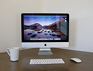 Genial LAMINATED POSTER Home Office Imac Desktop Computer White Apple Poster Print  24 X 36