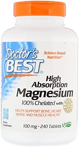 Doctors Best Absorption Magnesium Chelated