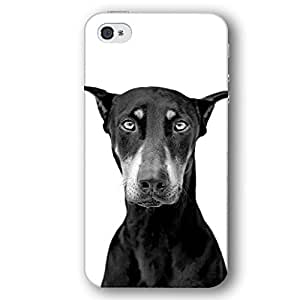 Doberman Pinscher Dog Puppy iPhone 4 and iPhone 4S Slim Phone Case
