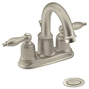 Moen incorporated 4948stst castleby centerset faucet bathroom sink faucets Amazon bathroom faucets moen