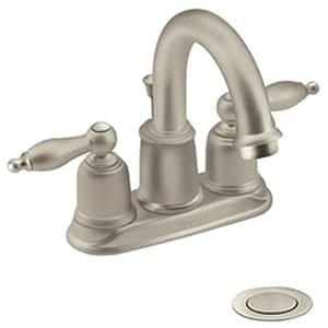 Moen incorporated 4948stst castleby centerset faucet bathroom sink faucets Amazon bathroom faucets moen