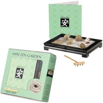 Toysmith Mini Zen Garden (Black or Rosewood)