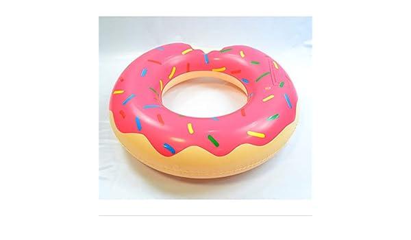 LHKJ Piscina Inflable. Adultos para Niños. Natación Circle. Donuts ...