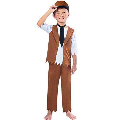 Victorian Boy Costume - Age 7-8 Years -