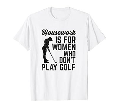 Funny Women's Golf Shirt