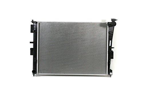 Radiator - Pacific Best Inc For/Fit 13249 11-13 Kia Optima Hybrid 11-13 Sonata Hybrid 2.4L Plastic Tank Aluminum Core WITH Transmission Oil Cooler
