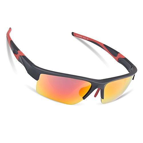 ilikable Sports Sunglasses for Men Women Lightweight UV Protection Sunglasses Waterproof Glasses for Cycling Running Fishing Hiking - - Sunglasses Best Golfing